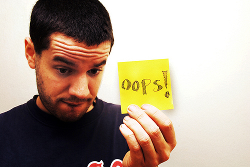 6 Things to Do When You Make a Mistake at Work