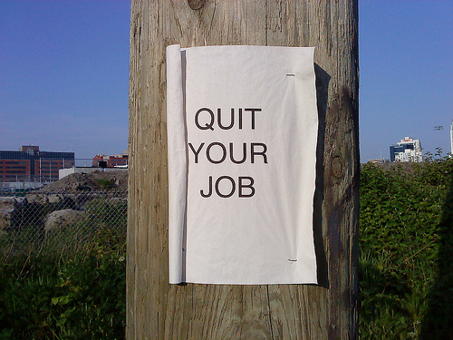 When Your Gut Says, 'It's Time to Quit'
