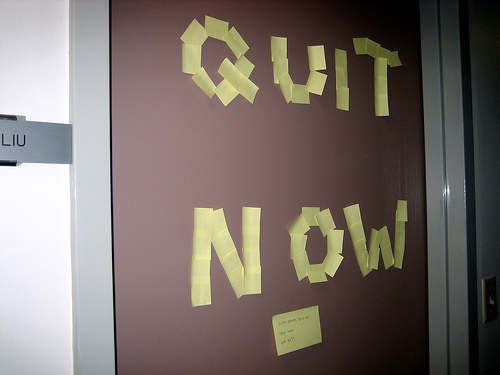 Go Big AND Go Home: Epic Quitting Stories