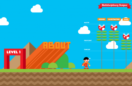 Super Mario-Style Resume Is the Best Resume Ever