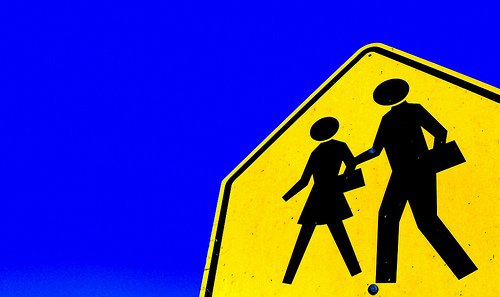 boys and girls sign
