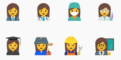 Google Proposes 13 New Emojis for Gender Equality