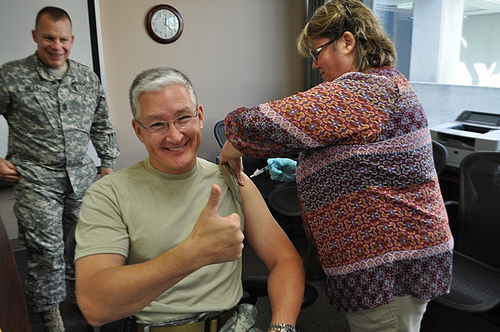 Get a Flu Shot, for Your Co-Workers' Sake