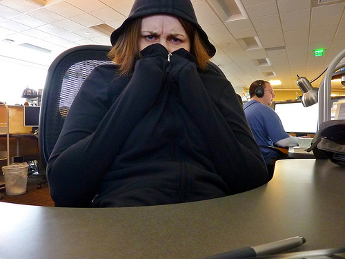 Here's Why Your Office Is So Cold