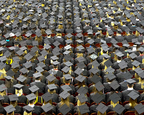 Good News for College Grads: More Real Jobs