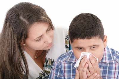 Moms Stay Home When Kids Are Sick