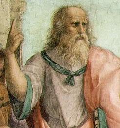 Leonardo as Plato