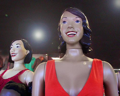 Mannequins Are Taking Jobs From Human Sign Spinners