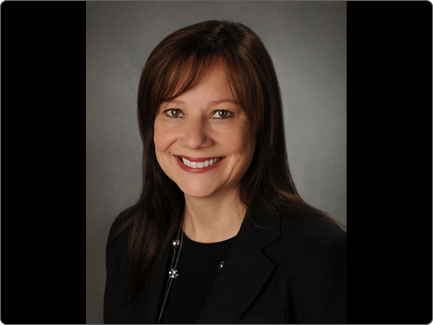 GM's New CEO Mary Barra Is the First Woman to Lead a Major Car Company
