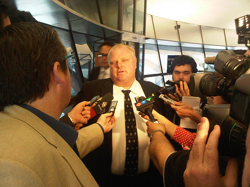 3 Things You Should Never Do at Work, Courtesy of Mayor Rob Ford