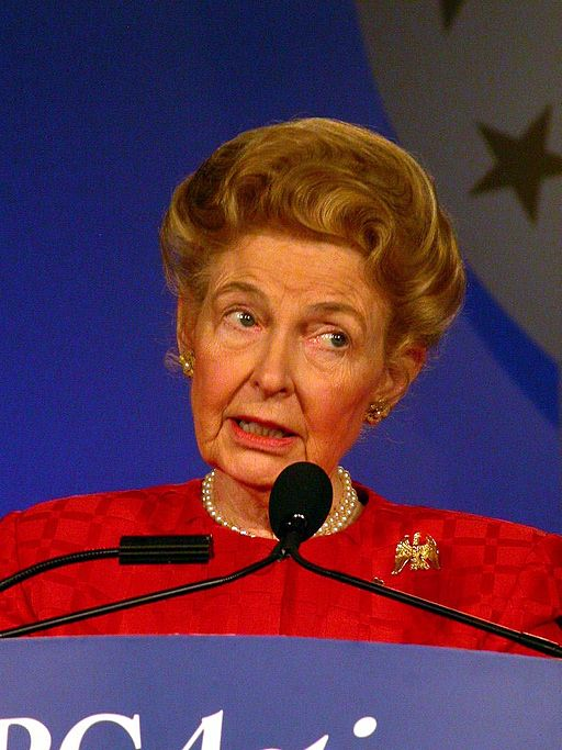 Phyllis Schlafly Thinks Pay Equality Will Make It Harder to Get Married