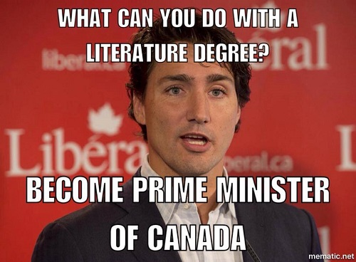 Justin Trudeau and 5 Other Successful English Majors