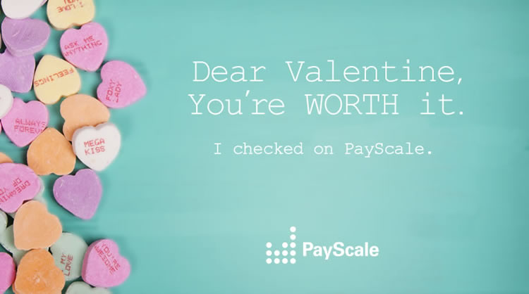 Show Your Coworkers How You Feel With PayScale Valentines