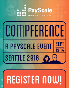 Register for PayScale Compference: a conference for HR Professionals