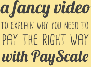 Get pay right with PayScale