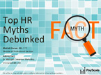 Top HR Myths Debunked