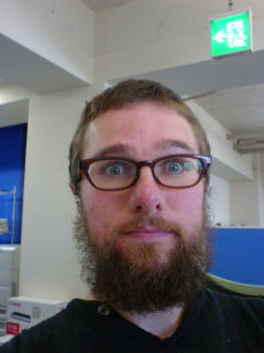 Beard at work