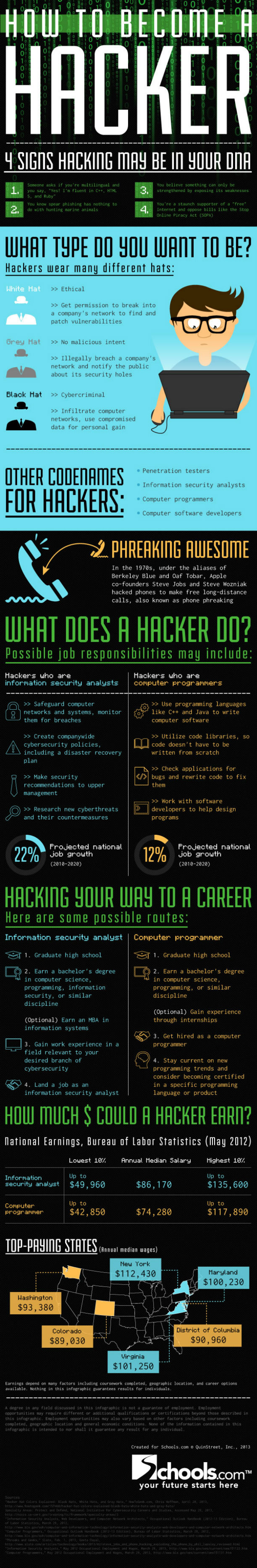 hacker infographic