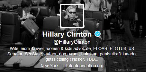 How You Can Be as Awesome as Hillary Clinton's Twitter Bio