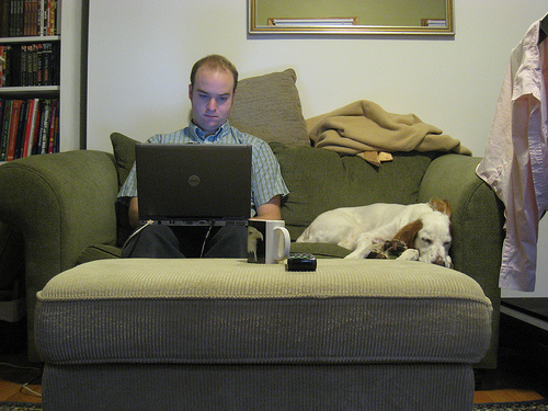 Now Men Are Hogging Up the Work-From-Home Jobs