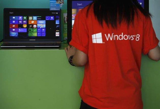 microsoft windows 8 employee