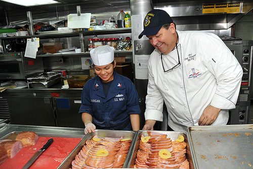 submarine chef odd jobs