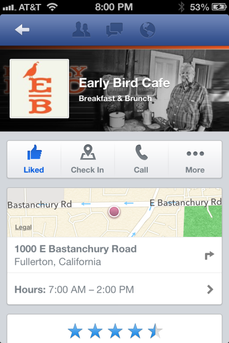 Facebook introduces new mobile Pages for local businesses