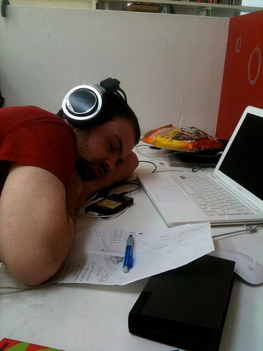 napping at work