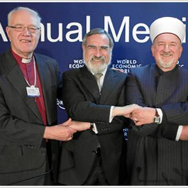 Religious Leaders, World Economic Forum 2009 Annual Meeting by World Economic Forum from Wikimedia under CC BY-SA 2.0