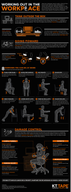 Simple Ways to Work Out at Work [infographic]