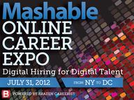 Mashable Holds Online Career Expo for Digital Talent