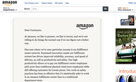 Amazon.com Hijacks Homepage to Promote Career Choice Program