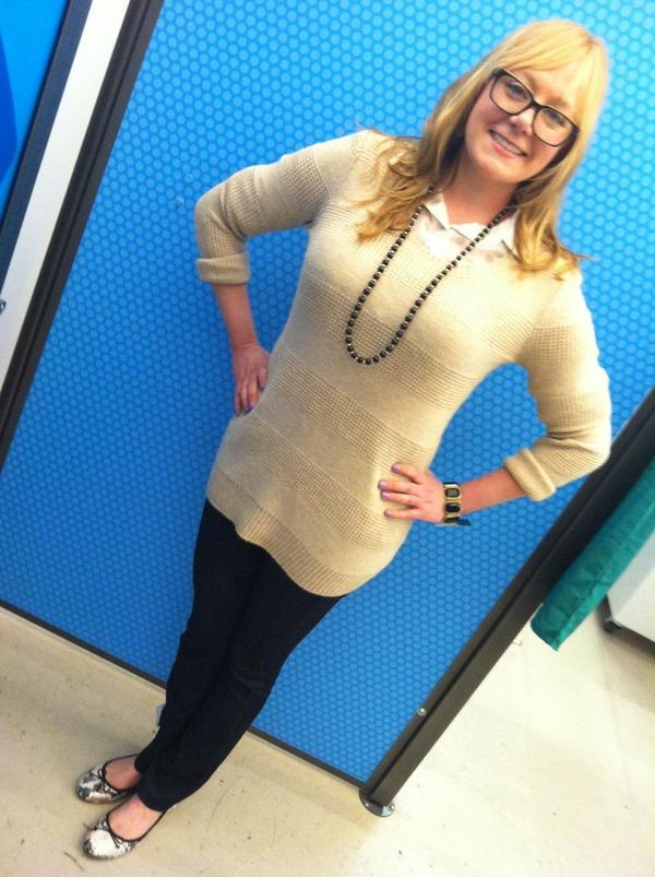 Aubrey camel sweater
