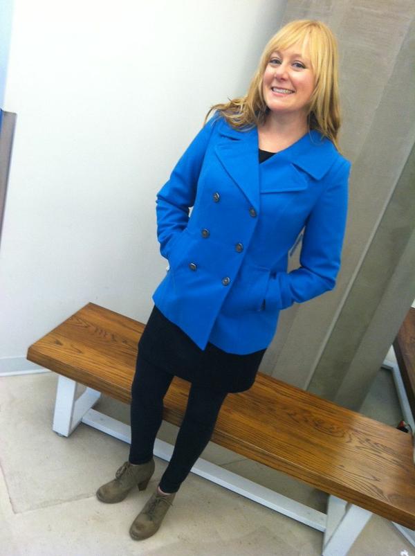 Aubrey blue blazer