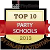top ten party schools