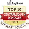 Best central south colleges by salary potential