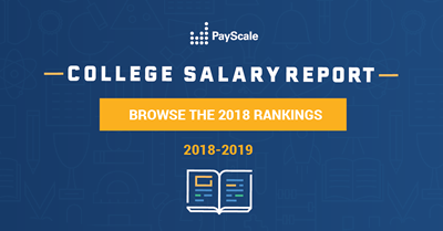PayScale College Salary Report