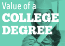 value of a collge degree