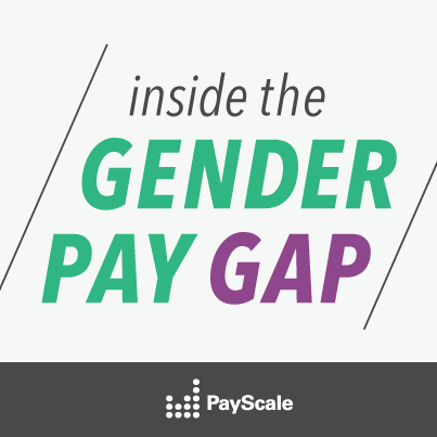 Gender Pay Gap By Job Type PayScale - Us wage gap map