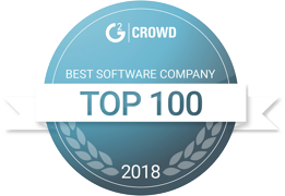 G2Crowd Best Software Company Top 100