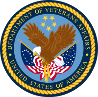 The Veterans Administration (United States) logo