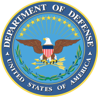 United States Government, Department of Defense logo
