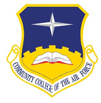 Community College of the Air Force (CCAF) logo