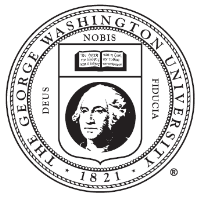 George Washington University (GWU) logo