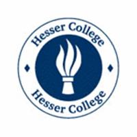 Hesser College logo