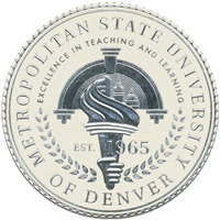 Metropolitan State College of Denver (MSCD) logo