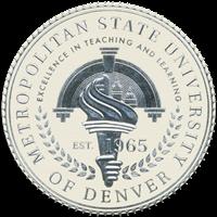 Metropolitan State College of Denver (MSCD) logo