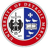 University of Detroit Mercy (UDM) logo