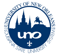 University of New Orleans (UNO) logo