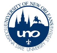 University of New Orleans (UNO) logo